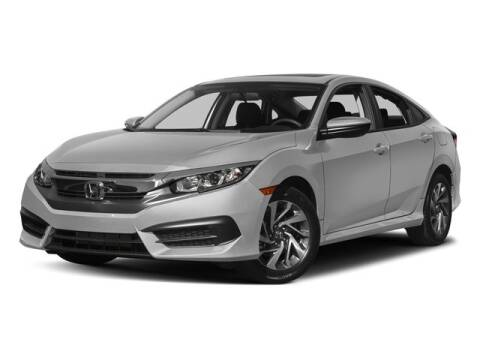 2017 Honda Civic EX for sale at DAVID McDAVID HONDA OF IRVING in Irving TX