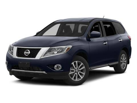 2015 Nissan Pathfinder Platinum for sale at DAVID McDAVID HONDA OF IRVING in Irving TX