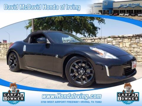 2017 Nissan 370Z for sale at DAVID McDAVID HONDA OF IRVING in Irving TX