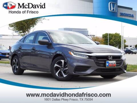 2021 Honda Insight for sale at DAVID McDAVID HONDA OF IRVING in Irving TX