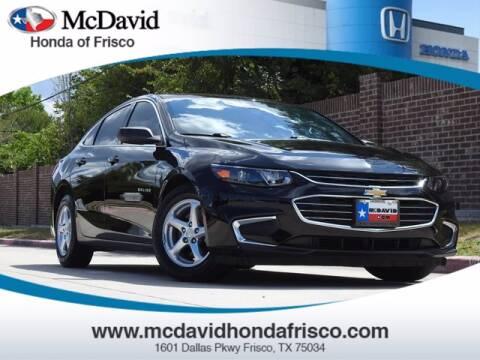 2017 Chevrolet Malibu for sale at DAVID McDAVID HONDA OF IRVING in Irving TX