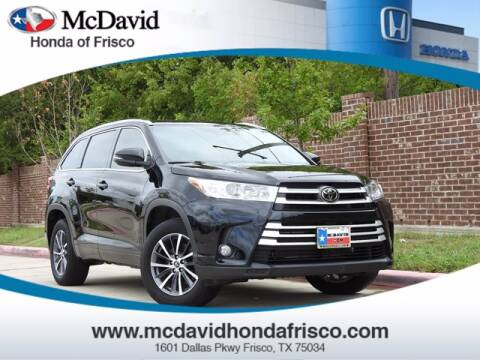 2018 Toyota Highlander for sale at DAVID McDAVID HONDA OF IRVING in Irving TX