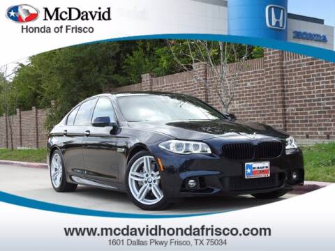2016 BMW 5 Series for sale at DAVID McDAVID HONDA OF IRVING in Irving TX