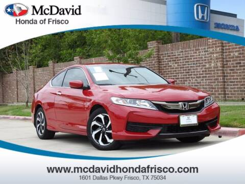 2017 Honda Accord for sale at DAVID McDAVID HONDA OF IRVING in Irving TX