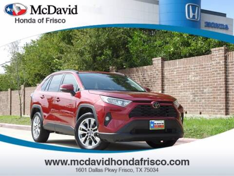 2019 Toyota RAV4 for sale at DAVID McDAVID HONDA OF IRVING in Irving TX