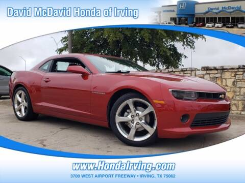 2015 Chevrolet Camaro for sale at DAVID McDAVID HONDA OF IRVING in Irving TX