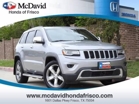 2014 Jeep Grand Cherokee for sale at DAVID McDAVID HONDA OF IRVING in Irving TX