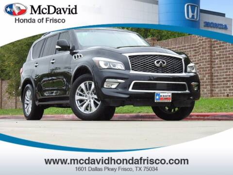 2016 Infiniti QX80 for sale at DAVID McDAVID HONDA OF IRVING in Irving TX