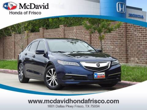 2017 Acura TLX for sale at DAVID McDAVID HONDA OF IRVING in Irving TX