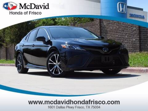 2020 Toyota Camry Hybrid for sale at DAVID McDAVID HONDA OF IRVING in Irving TX