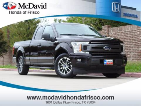 2018 Ford F-150 for sale at DAVID McDAVID HONDA OF IRVING in Irving TX