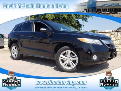 2015 Acura RDX for sale at DAVID McDAVID HONDA OF IRVING in Irving TX