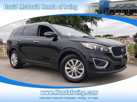2018 Kia Sorento for sale at DAVID McDAVID HONDA OF IRVING in Irving TX