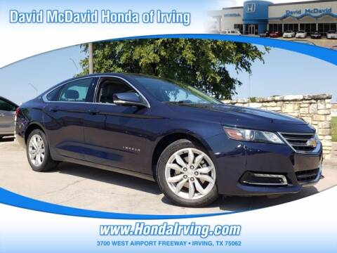 2018 Chevrolet Impala for sale at DAVID McDAVID HONDA OF IRVING in Irving TX