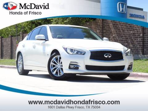 2017 Infiniti Q50 for sale at DAVID McDAVID HONDA OF IRVING in Irving TX