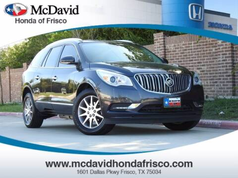 2014 Buick Enclave for sale at DAVID McDAVID HONDA OF IRVING in Irving TX