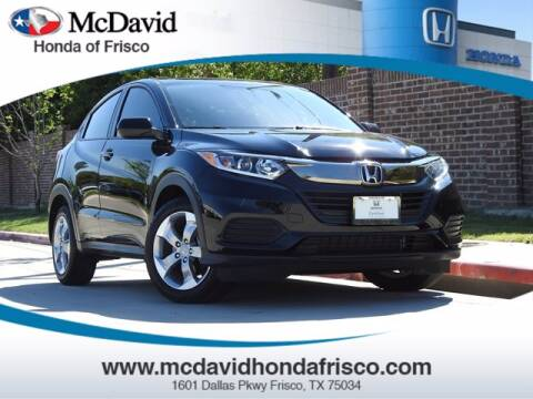 2019 Honda HR-V for sale at DAVID McDAVID HONDA OF IRVING in Irving TX