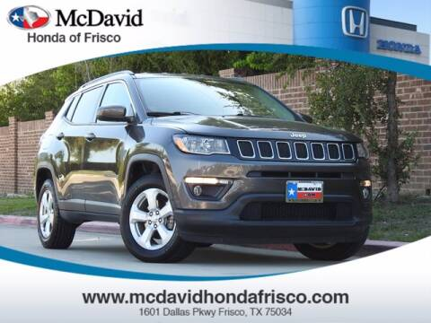 2017 Jeep Compass for sale at DAVID McDAVID HONDA OF IRVING in Irving TX
