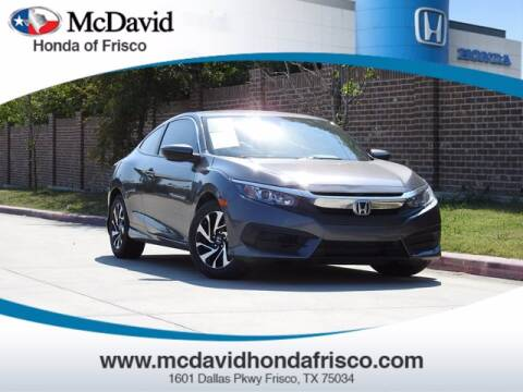 2017 Honda Civic for sale at DAVID McDAVID HONDA OF IRVING in Irving TX