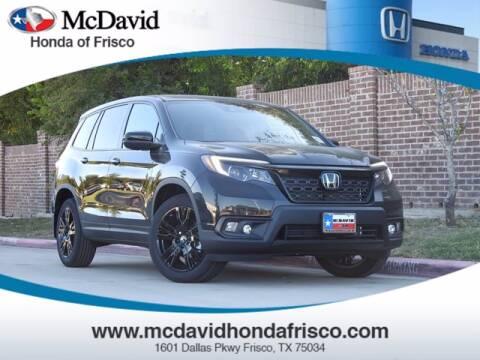 2021 Honda Passport for sale at DAVID McDAVID HONDA OF IRVING in Irving TX