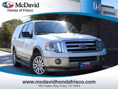 2012 Ford Expedition EL for sale at DAVID McDAVID HONDA OF IRVING in Irving TX