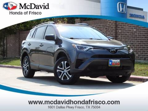 2018 Toyota RAV4 for sale at DAVID McDAVID HONDA OF IRVING in Irving TX