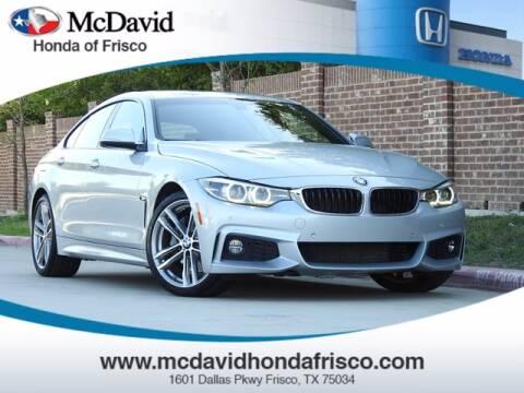 2018 BMW 4 Series for sale at DAVID McDAVID HONDA OF IRVING in Irving TX