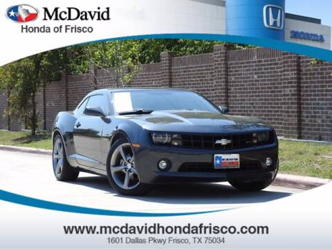 2013 Chevrolet Camaro for sale at DAVID McDAVID HONDA OF IRVING in Irving TX