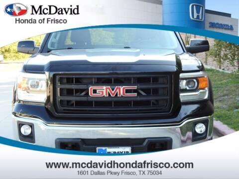 2014 GMC Sierra 1500 for sale at DAVID McDAVID HONDA OF IRVING in Irving TX