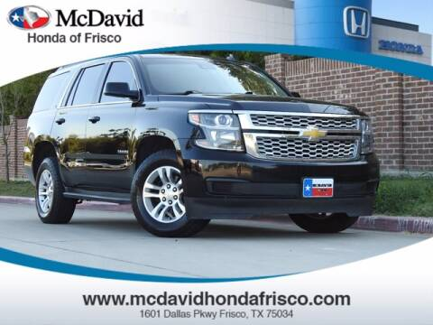 2015 Chevrolet Tahoe for sale at DAVID McDAVID HONDA OF IRVING in Irving TX