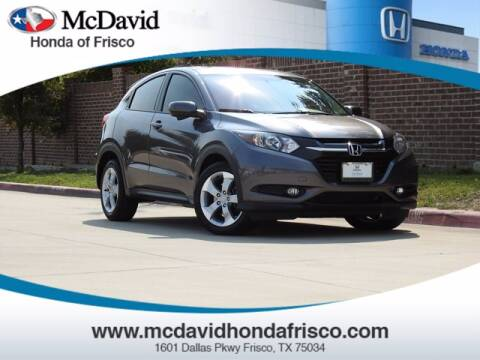 2016 Honda HR-V for sale at DAVID McDAVID HONDA OF IRVING in Irving TX
