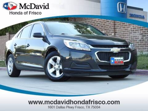 2016 Chevrolet Malibu Limited for sale at DAVID McDAVID HONDA OF IRVING in Irving TX