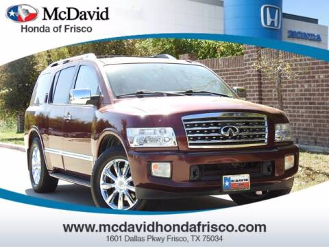 2010 Infiniti QX56 for sale at DAVID McDAVID HONDA OF IRVING in Irving TX