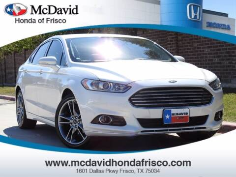 2015 Ford Fusion for sale at DAVID McDAVID HONDA OF IRVING in Irving TX