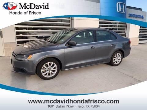 2013 Volkswagen Jetta for sale at DAVID McDAVID HONDA OF IRVING in Irving TX