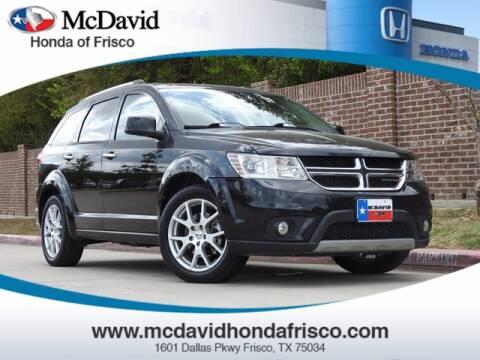 2013 Dodge Journey for sale at DAVID McDAVID HONDA OF IRVING in Irving TX
