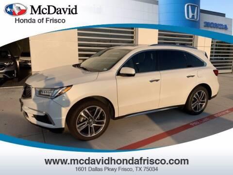 2017 Acura MDX for sale at DAVID McDAVID HONDA OF IRVING in Irving TX