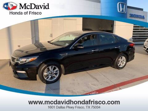 2019 Kia Optima for sale at DAVID McDAVID HONDA OF IRVING in Irving TX