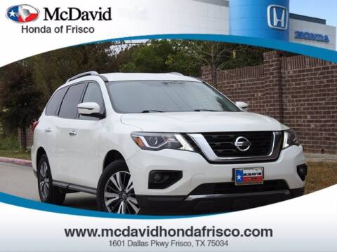 2017 Nissan Pathfinder for sale at DAVID McDAVID HONDA OF IRVING in Irving TX