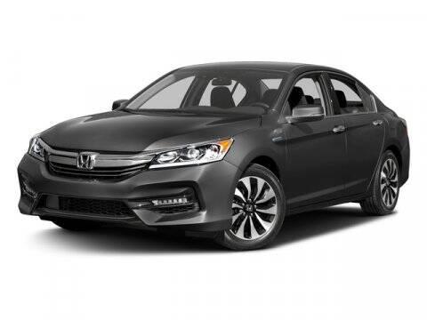 2017 Honda Accord Hybrid for sale at DAVID McDAVID HONDA OF IRVING in Irving TX