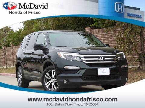 2017 Honda Pilot for sale at DAVID McDAVID HONDA OF IRVING in Irving TX