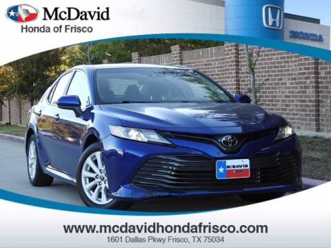 2018 Toyota Camry for sale at DAVID McDAVID HONDA OF IRVING in Irving TX