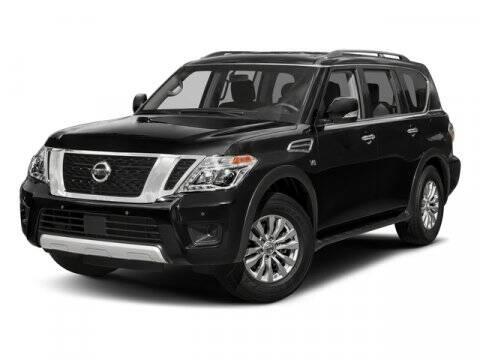 2017 Nissan Armada for sale at DAVID McDAVID HONDA OF IRVING in Irving TX