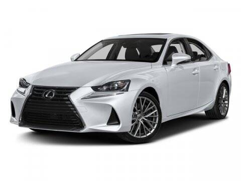 2017 Lexus IS 200t for sale at DAVID McDAVID HONDA OF IRVING in Irving TX