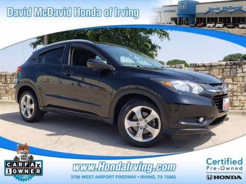2017 Honda HR-V for sale at DAVID McDAVID HONDA OF IRVING in Irving TX