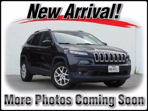 2014 Jeep Cherokee for sale at DAVID McDAVID HONDA OF IRVING in Irving TX