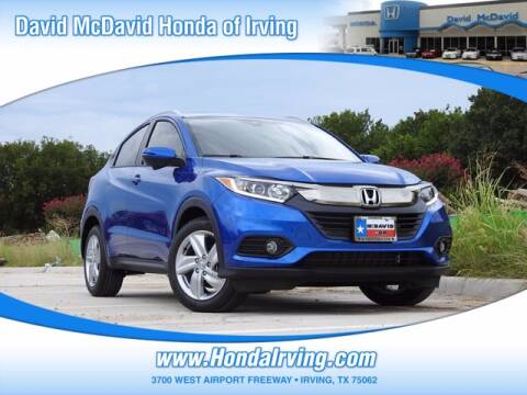 2020 Honda HR-V for sale at DAVID McDAVID HONDA OF IRVING in Irving TX