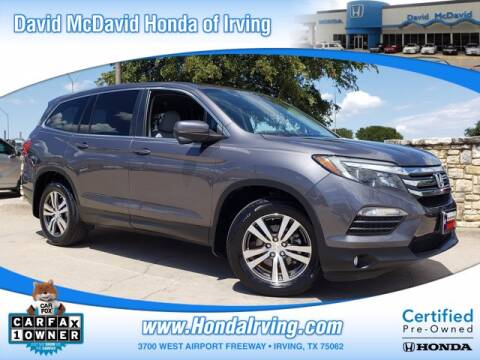 2018 Honda Pilot for sale at DAVID McDAVID HONDA OF IRVING in Irving TX
