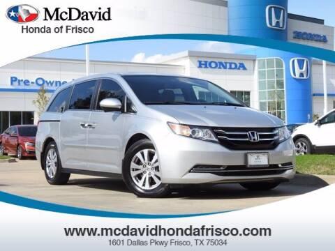 2015 Honda Odyssey for sale at DAVID McDAVID HONDA OF IRVING in Irving TX