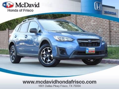 2018 Subaru Crosstrek for sale at DAVID McDAVID HONDA OF IRVING in Irving TX